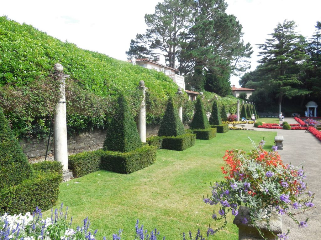 Italian inspired Topiary Gardens, Compton Acres by Paul Gillett