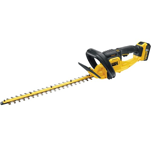 DeWalt have a great selection of cordless hedge trimmers