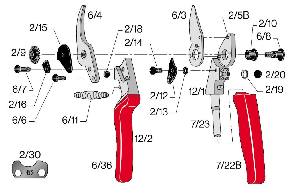 FELCO 12 Dissection